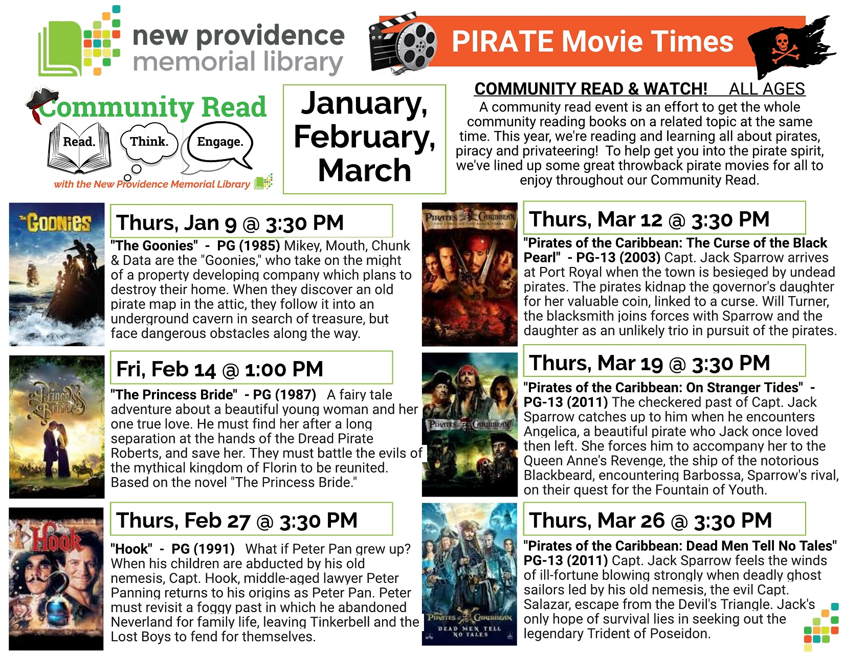PIRATE Movie Times small