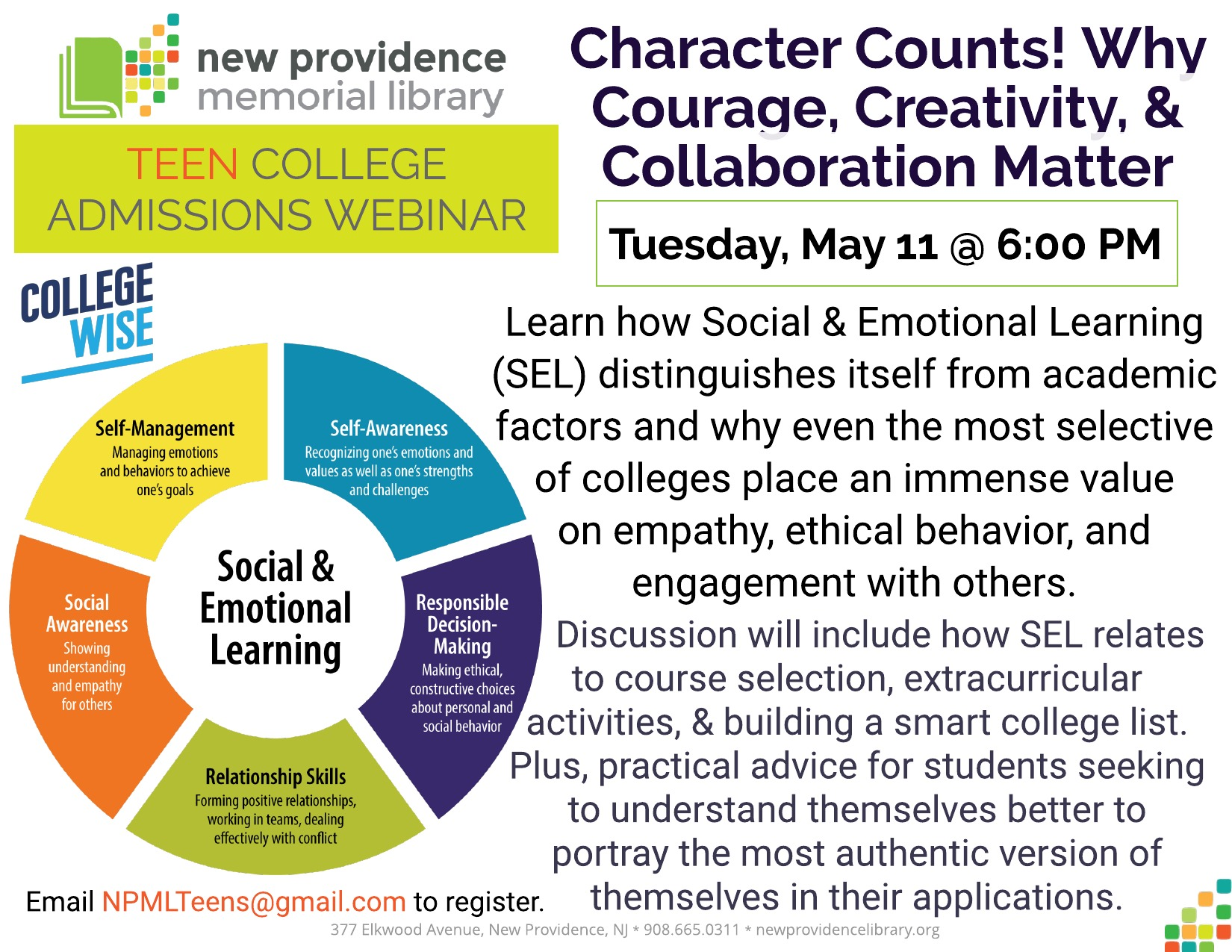 Character Counts Collegewise sm