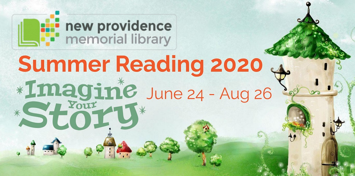 Summer Reading webpage banner